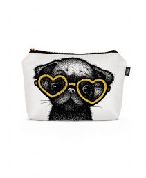 Косметичка Pug Puppy Pillow - Yellow