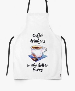 Фартук Coffee drinkers make better lovers
