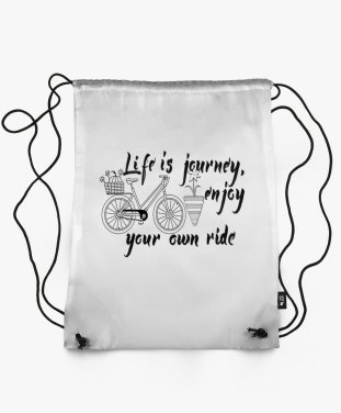 Рюкзак Life is a journey, enjoy your own ride