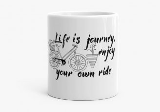 Чашка Life is a journey, enjoy your own ride