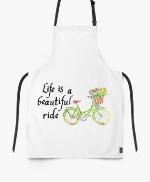 Фартух Life is a beautifil ride