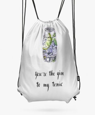 Рюкзак You're gin to my tonic