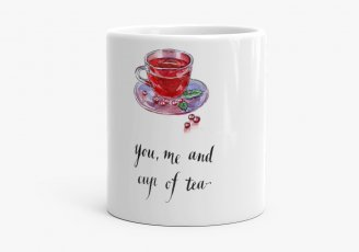 Кружка You, me and cup of tea
