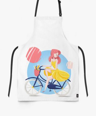 Фартук summer girl bicycle