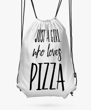 Рюкзак Just A Girl Who Loves Pizza