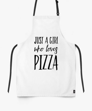 Фартук Just A Girl Who Loves Pizza