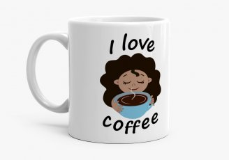 Чашка I love coffee