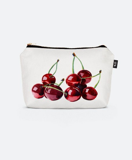 Косметичка Watercolour cherries