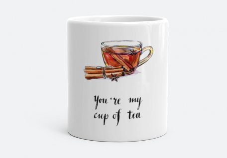 Чашка You're my cup of tea