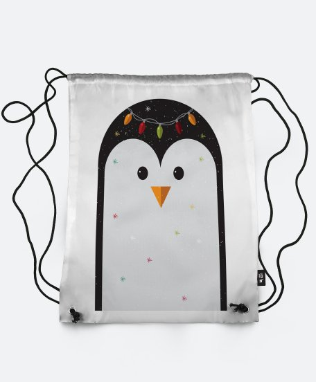 Рюкзак Penguin with fairy lights